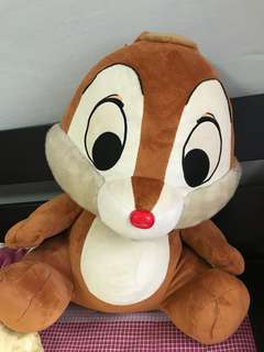 Huge chip and dale soft toys