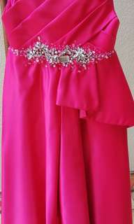 Cute Dark Pink Gown