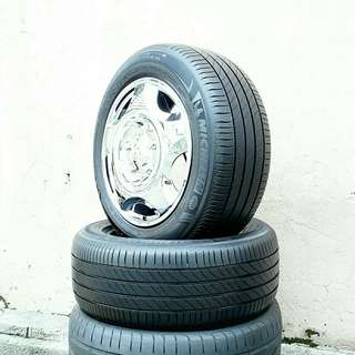 Used 225/55 R16(Sold) Michelin (2pcs) 🙋‍♂️
