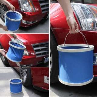 Collapsible Pail For Car Wash Free Mailing