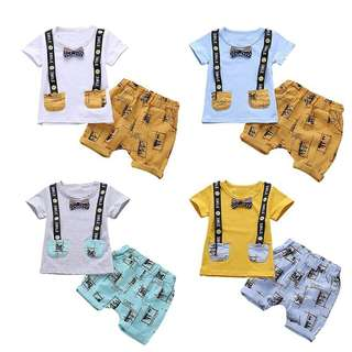 Boy shirt set