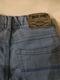 GRIZZLY JEANS PANTS