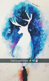 Harry Potter patronas 🎨A3 Size