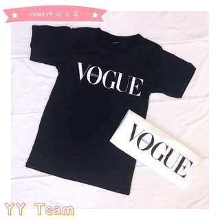 Ready stock VOGUE t-shit
