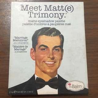 THE BALM Meet Matte Trimony Palette