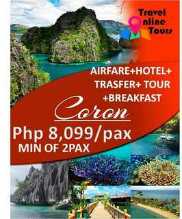 Coron all in tour package
