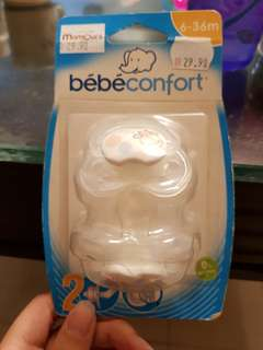 Bebe confort pacifier (6 mths onwards)