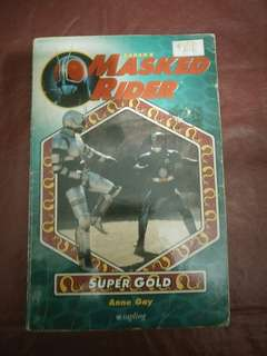 Saban masked rider:super gold