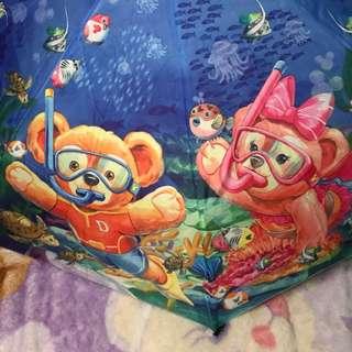duffy達菲熊自動雨傘