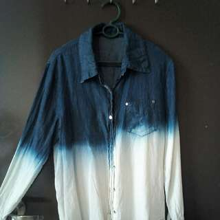 Ombre Jeans Shirt