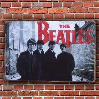 Beatles Vintage Wall Deco