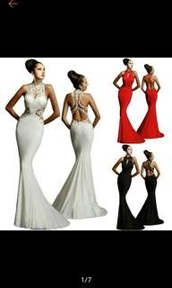 Dresses Party Evening Women Maxi Wedding Formal Gown Mermaid