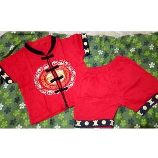 Baju anak cheongsam