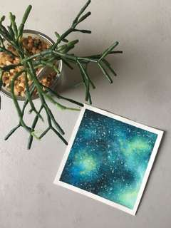 The Galaxy Handmade Painting
