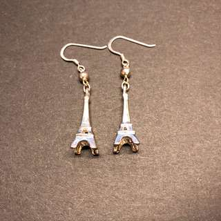 Paris 巴黎鐵塔 sterling earrings