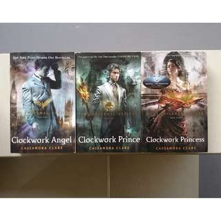 The Infernal Devices Trilogy by Cassandra Clare