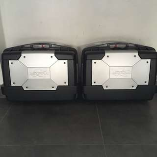 Kappa kgr33 side boxes panniers