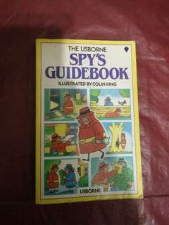 The usborne spy guidebook