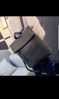Dark grey bagpack