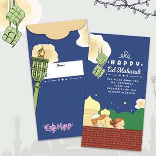 CUSTOM SAMPUL DUIT RAYA MONEY PACKETS