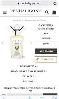 Penhaligons Gardenia