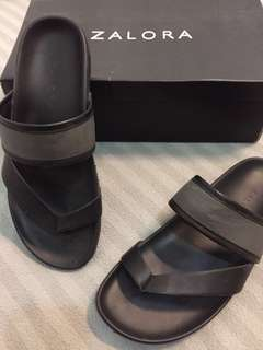 Sandal Zalora Grey Black