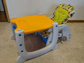 Puku 2-in-1 Baby High Chair (Used)