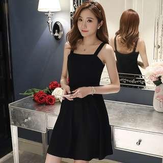 Singlet Black Dress