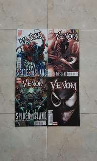 "Venom Vol 2 (Marvel Comics 4 Issues; #6 to 9, story line on ""Spider-Island"", issue #9 is rare)"