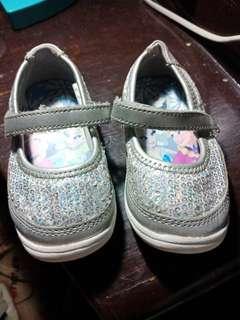 silver disney (frozen) shoes