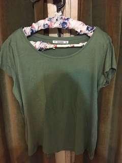 Pull & Bear Green tshirt