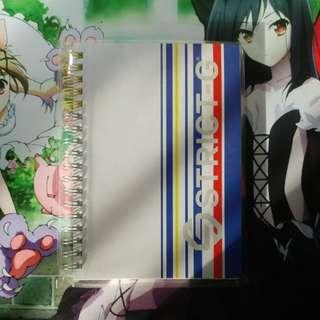100% 正貨 Gundam Cafe 筆記簿 Notebook