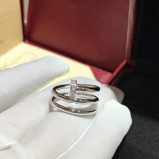Cartier Juste Un Clou double ring with diamond