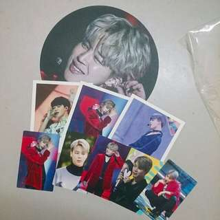 Jimin fan set