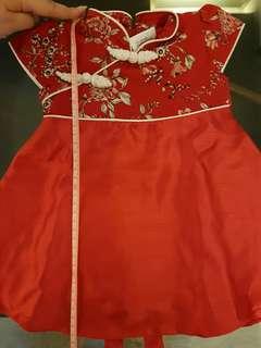 Baby cheongsam dress