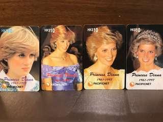 HK Princess Diana Phonecard