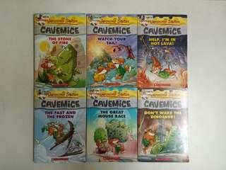 Geronimo Stilton Cavemice Series No. 1 to 13