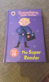 Superhero Phonic Readers - the super reader level 10