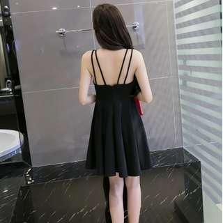 Bralette cross back dress