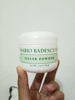 Mario Badescu Silver Powder (1oz/28gr) + Free Toner Mineral Botanica Acne Treatment