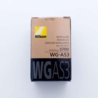 Original Nikon WG-AS3. Water Guard for Nikon D700. Used.