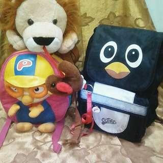 Cuties n pals,sweet cherry n pocoro backpack