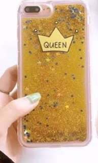 Queen Shockproof Glitter Case