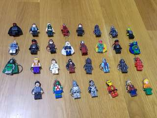 (In Stock) Lego Inspired Marvel Super Heroes & Villains Key Chain