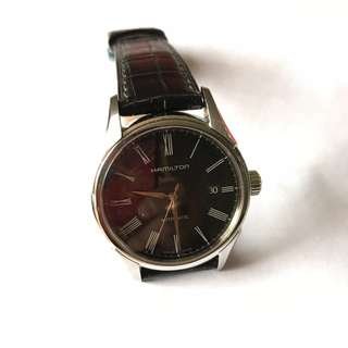 Authentic Hamilton Leather Automatic Watch