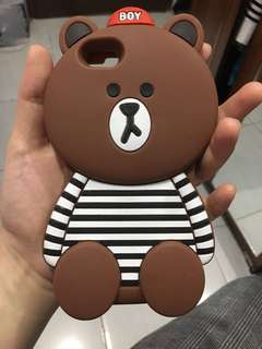 Brown Casing iphone 6/6s