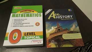 Mathematics and History Olvls book