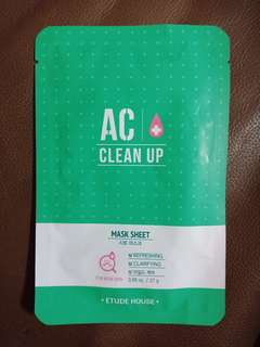 AC Clean Up Mask Sheet