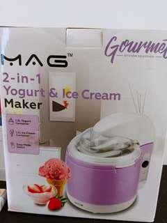2 in 1 Yogurt & Ice cream maker