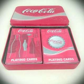 可口可樂撲克遊戲咭牌 CocaCola Playing Cards ( Vintage Poker)